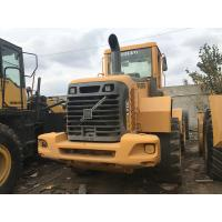 Volvo L70E Wheel Used CAT Loaders D6D Engine 12890KG Operating Weight for sale
