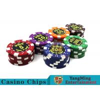Quality Good Printing Non - Faded Casino Royale Poker Chips With Special ABS Material for sale