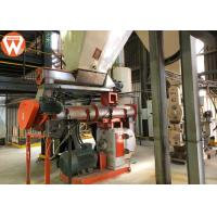 Forage Animal Feed Production Line , Electronic Control System Animal Feed Equipment Manufactures