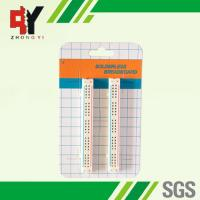 100 Tie Points Solderless Breadboard Kit 2 Half Size Strips With Color Printed Manufactures