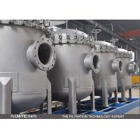 Quick Open Stainless Steel Filter Housing , Water Filter Housing For Waste Water Manufactures
