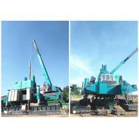 Roadside Hydraulic Piling Machine 460T Piling Capacity No Air Pollution