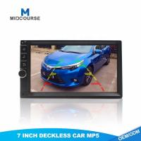 China Universal 7 inch touch screen 2 din car audio monitor with MP5 SD USB Bluetooth on sale