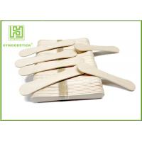 94Mm Ice Cream Wooden Sticks , Ice Cream Distributor Hot Stamping Logo for sale