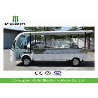 Quality 7.5kW 2 Person Electric Utility Cart Electric Cargo Bus With Heavy Payload for sale