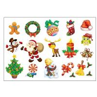 Christmas Kids Temporary Tattoo Festival Cartoon Sticker Color Printing Manufactures