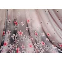 China Funky Curtain Custom Printed Fabrics Floral Apparel Fabric wholesale