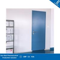 Paper Honeycomb Sandwich Panel Door / Operating Room Doors With Air Lock System Manufactures