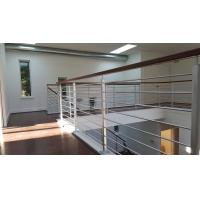 10 Years Warranty Stainless Steel Rod Railing/ Metal Wires Railing for sale Manufactures