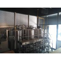 10HL Electricity Heated Micro Brewing Equipment Brewhouse For Bar Hotel Manufactures