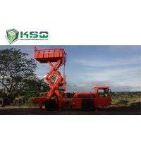 Underground Service Vechicles 1 Ton Scissor Lift Truck for Underground Mining or Tunneling Project Manufactures