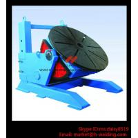 Height Adjusting Automated Pipe Welding Positioner Turntable For Vessel Loading And Machining Manufactures
