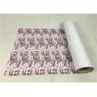 Washable Sublimation Metallic Vinyl Material Army Pink Camouflage For Leather Manufactures