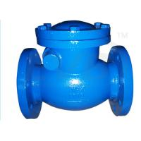 Quality PN10 / PN16 Ductile Iron Valves Hydraulic Swing Check Valve ANSI BS DIN JIS for sale