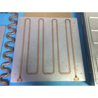 China Super Efficiency liquid Exchange Cooling Plate Cooler Disc Cold Plate Heatsink on sale