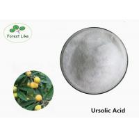 Quality Skin Care Cosmetic Raw Materials 99% Powder Ursolic Acid Rosemary Extract for sale