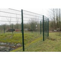 4MM Wire Mesh Fence Panels Galvanized PVC or Powder Coated Surface Treatment Manufactures