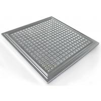 IP65 Hydroponic Dimmable LED Grow Lights PPMA Cover , 300*300*10mm Manufactures