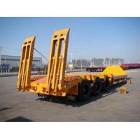 NEW extendable low bed trailer for construction engineering , truck trailer used for sale Manufactures