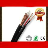 Professional Siamese 75ohm RG59 Power cable coaxial cable Manufactures