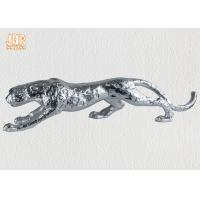 Polyresin Animal Figurines Glass Tiger Statue Manufactures