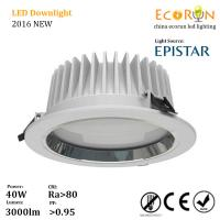 China 8inch epistar smd recessed led downlight 30w 200mm cutout with ce rohs saa on sale