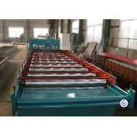 China 1250 Mm Light Weight Metal Roofing Machine For Trapezoidal Roof Cladding Sheet on sale