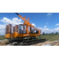 China Spun Pile Machine by Hydraulic Static Pile Driver with 280tons Piling Capacity on sale