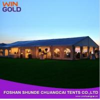 China 2015 Hot Sale Aluminum 20m Wholesale Waterproof Canvas Tent,Outdoor wedding tent on sale