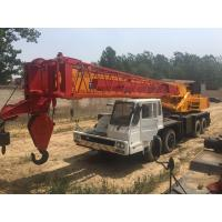 Fully Hydraulic Truck Crane / Tadano Used 50 Ton Crane , Excelletion Condition Manufactures