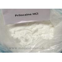 White Crystals Powder Local Anesthetic Drugs Prilocaine Hydrochloride HCL For Painkiller Manufactures