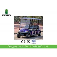 Safety 4kw Waterproof 6 Seater Electric Golf Carts With