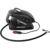 Portable Plastic Black With Hand Held  DC12V Car AIr Comressor For All Types Of Vehicle Manufactures