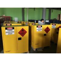 Hazardous Chemical Storage Cabinets Fireproof  for Chemical Liquid 160 litres Manufactures