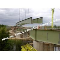 China Modular Steel Box Structure Girder Bridge Modular Bridge with Heavy Capacity High Stability on sale