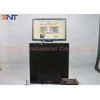 17 Inch LED / LCD Screen Lift Office Video System with Aluminum Alloy Panel Manufactures