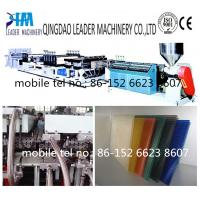 twin wall polycarbonate sheet extrusion line Manufactures