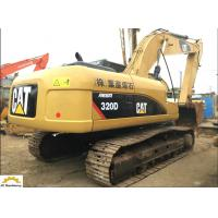 20t Used Cat 320 Excavator 320D With Good Engine / Pump Manufactures