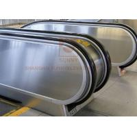 More 20 Passenger Airport Conveyor Belt Walkway Escalator 0.5m / S Speed Manufactures