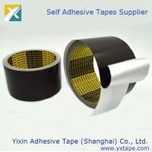 Black Color Aluminum Foil Tape Thermal Insulation Tape Aluminum Foil Tape Black Color Foil Tape Manufactures