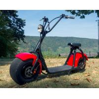 Adult 1 Person Recret Red Electric Moped Bike With 1000W Engine Manufactures