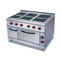 China 4 Or 6 Plates Electric Range Cookers Round / Square Freestanding Electric Cooker on sale