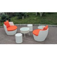 UV Resistant Fashion Obelisk Chair With Round Tea / Coffee Table Manufactures