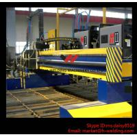 Industrial CNC Cutting Machine Flame / Plasma With American Hypertherm DEGD System Manufactures