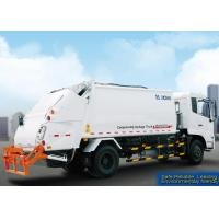 Self Compress Special Purpose Vehicles Rear Loader Garbage Truck Manufactures