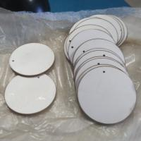 China High Corrosion Resistant Ultrasound Piezoelectric Ceramic Discs For Medical Care on sale