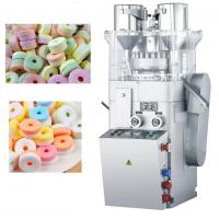 Quality Double Color Whistling Sugar / Candy Tablet Press Machine , Ring Shape Tablet for sale