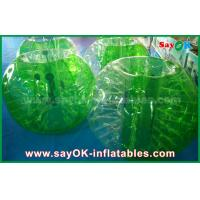 Green TPU Material Inflatable Sports Games Human Bubble Football Soccer Ball Manufactures