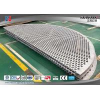 304L 316L 904L F53 Stainles steel support plate,baffle plate for pressure vessel Manufactures