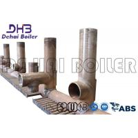 Collecting Box Copper Manifold , Boiler Tube Ensuring Uniform Heating Manufactures